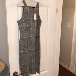 Banana Republic checkered dress
